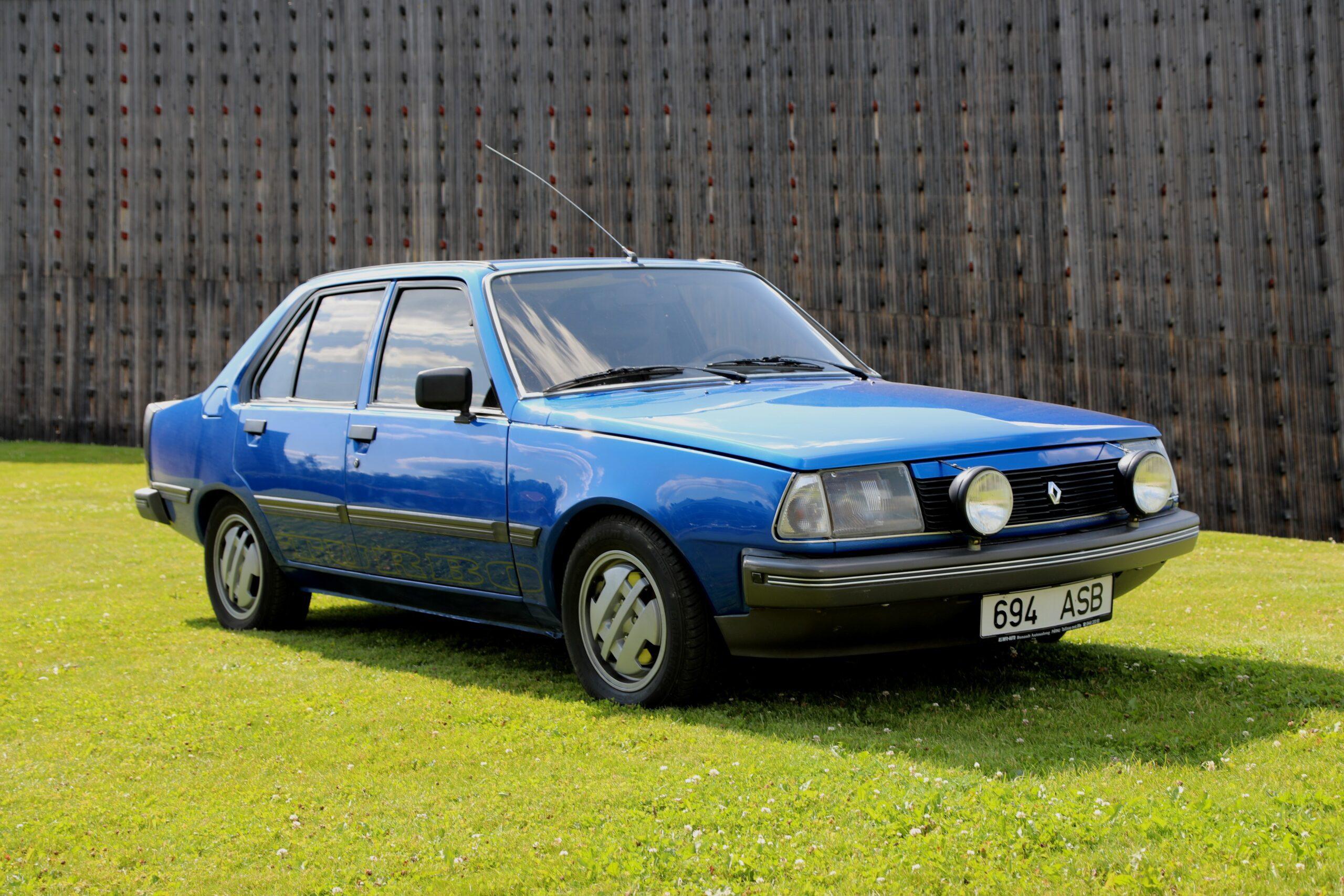 Sõida nagu tavaline inimene – Renault 18 Turbo