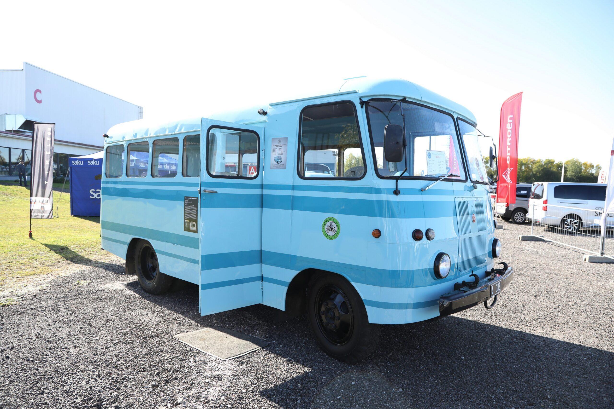 Autobussi TA6-1 taastamine