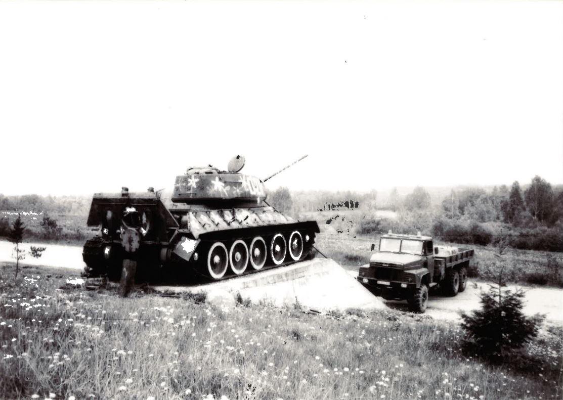Mäksa tanki T-34/85 ajalugu