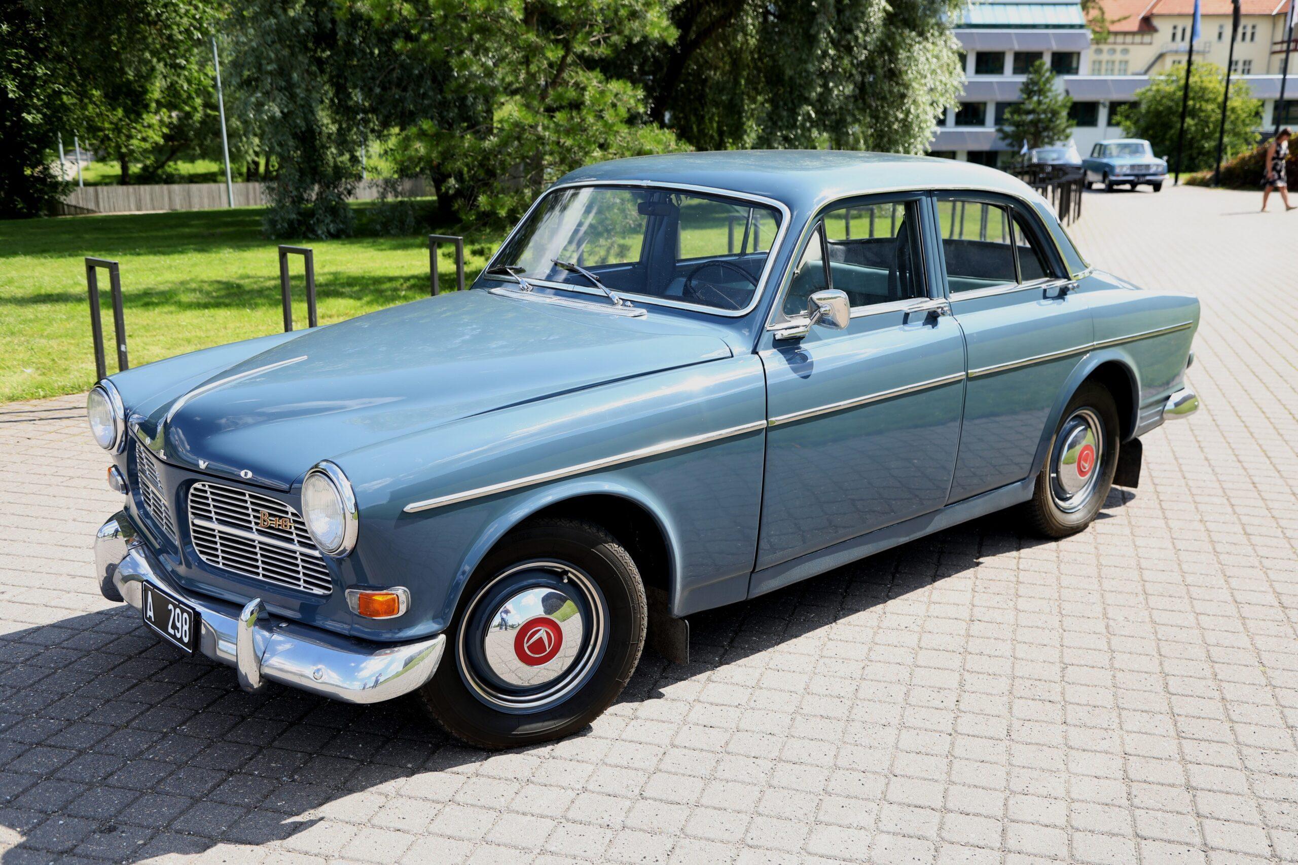 Esimene turvavöödega auto – Volvo Amazon