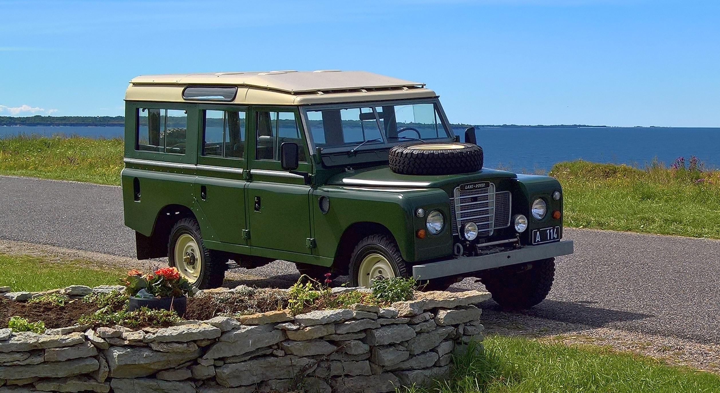4×4 hobiauto – Land Rover Series III