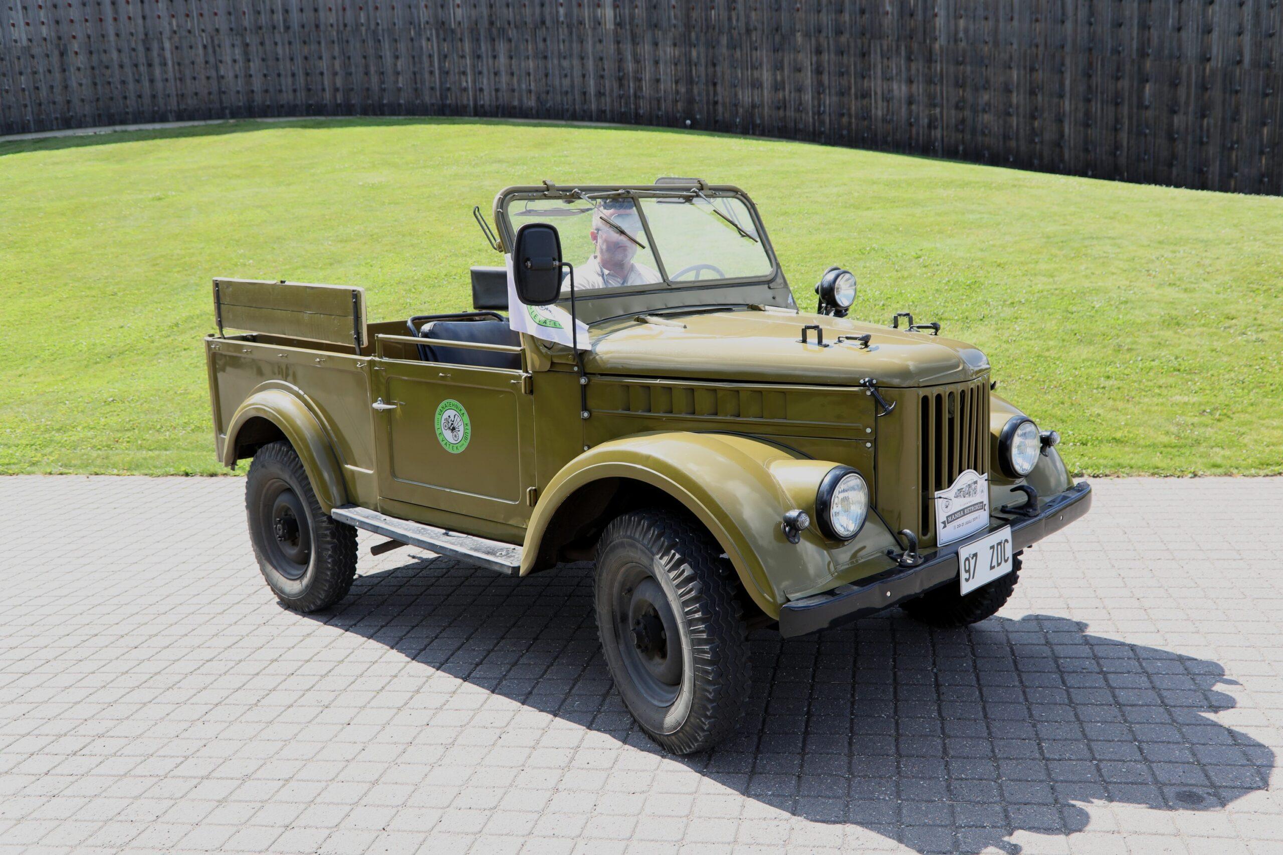 GAZ 69 oksjonilt